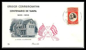 GP GOLDPATH: CARIBBEAN COUNTRY COVER 1955 FIRST DAY COVER _CV733_P08