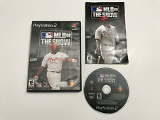 MLB 08: The Show (Sony PlayStation 2, 2008) Complete Tested
