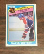 1984-85 O-PEE-CHEE HOCKEY CARD #382 WAYNE GRETZKY EDMONTON OILERS NRMT [EV#136]