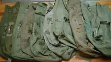 X 2 ea | US Military USGI OD Green Duffle Bag Service Issued 100% Functional