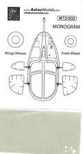 Aztec Decals 1/72 A-37B DRAGONFLY Canopy Paint Mask Set Monogram Model