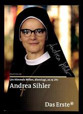 Andrea Sihler Um Himmels willen Autogrammkarte Original Signiert ## BC 39820