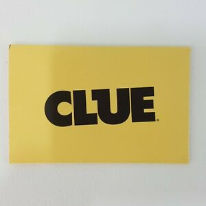 Clue Harry Potter Replacement Envelope Solution Case File Game Part 2016