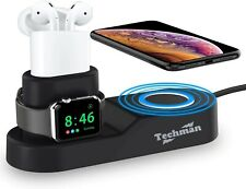 4 in 1 Wireless Charging Station for Apple Iphone, Apple Watch, Ipad and Airpods