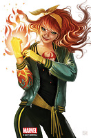 IRON FIST #4 STEPHANIE HANS MARY JANE VARIANT MARVEL COMICS