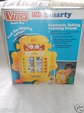 1993 VTech Little Smart Smarty Robot Learning Toy Still in Box 10 Cards
