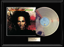 BOB MARLEY NATTY DREAD ALBUM LP WHITE GOLD SILVER PLATINUM TONE RECORD RARE