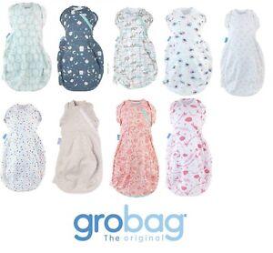 Grosnug Swaddle Gro Snug Grobag Sleeping 2-in-1 Dual Use Newborn choose design