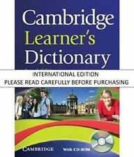 Cambridge Learners Dictionary, 4 Ed. (PB + CD-ROM) by IDM Danmark Aps