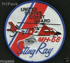 USCG MH-68 StingRay Helicopter United States COAST GUARD Patch