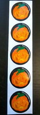 100 Halloween Stickers Party Favors Teacher Supply Jack Lantern Pumpkin