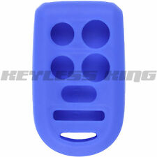 New BLUE Keyless Entry Remote Key Fob Clicker Case Skin Jacket Cover Protector
