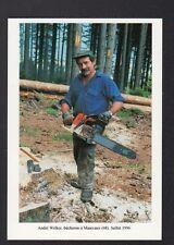 MASEVAUX (68) BUCHERON en FORET en 1996