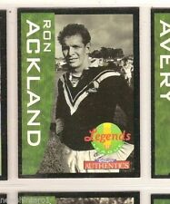New Zealand Warriors 1995 Rugby League (NRL) Trading Cards