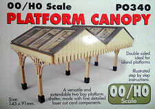 New Metcalfe OO/HO Platform Canopy PO340 Suit Hornby