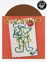 CHARLES BUKOWSKI Reads His Poetry LP Whiskey Brown Vinyl Newbury Comics /300