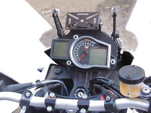 supporto GPS / GPS support  HEED per KTM 1190, 1050 Adv., 1290 Super Adv. - Nero