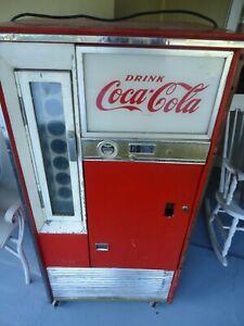 """Vintage Coca-Cola / Coke Soda Vending Machine Vendo H63 A """"Working"""""""