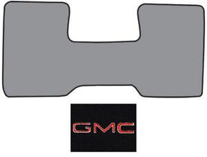 1975-1978 GMC C25 Low Tunnel Cutpile Carpet Logo Floor Mat Front Row 1pc