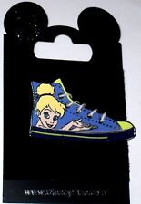 Disney Pin✿Tinker Bell Tink Tennis Shoe Character Sneaker Laces Footwear Runner