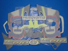 HUSQVARNA TC 610  98  KIT DECAL ADESIVI  Satz von Aufklebern STICKERS ABZIEHBILD