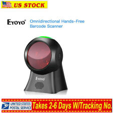 Eyoyo Usb Wired Desktop Laser Barcode Scanner Reader Automatic Wake Up For Pos/