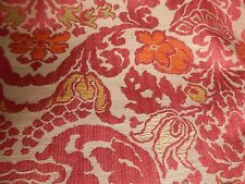 Pink Upholstery Fabric, Pink Fabric, Upholstery Fabric, Statement Fabric