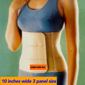Abdominal Binder Back Stomach Compression Brace Hernia Support Breathable NHS
