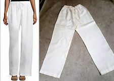 ESKANDAR drawstring linen trousers Pants with pockets sz 0  $570