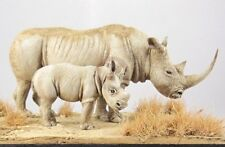 Cix Models 54mm (1/35) African White Rhinoceros with Calf (2 Figures) CIXM54001