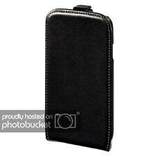 Hama móvil-plegable bolsa para Nokia Lumia 800 en negro Funda de ventana flap case cuero