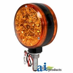 Amber 12 Volt LED Warning Light A-28A43