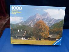 5520.  Puzzle, Bauernhof in Österreich,  1000 Teile, Ravensburger