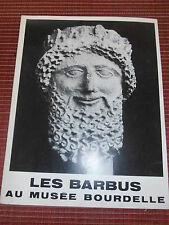 LIVRE SCULPTURES LES BARBUS 1978 ( ref 51 )