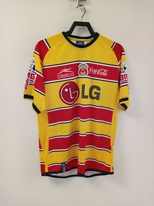 Vintage Atletica Monarcas Morelia 1999 Futbol SOCCER Jersey Mens L pre-owned
