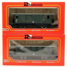 2 ASSORTED HO RIVAROSSI COACHES 5N