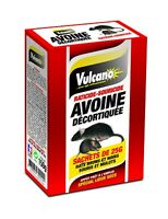 VULCANO RATICIDE SOURICIDE AVOINE DECORTIQUEE SACHET DE 25 G