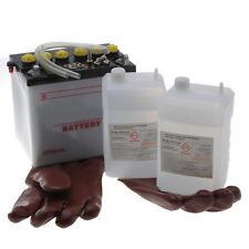 Batterie 12N24-4 A pour tracteur tondeuse autoportée livrée avec acide