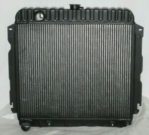 "Mopar Black Radiator 22"" Cuda Charger RoadRunner RT Superbee 1970 1971 1972"