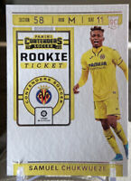 2019-20 PANINI CHRONICLES SAMUEL CHUKWUEZE CONTENDERS ROOKIE TICKET
