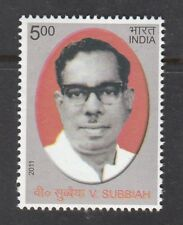 INDIA 2011 V Subbiah stamp 1v MNH
