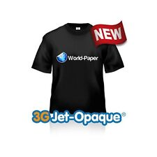 3G Jet Opaque Neenah Inkjet Heat Transfer Paper 8.5x11 50 sheets World Paper :)