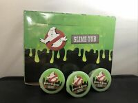 GHOSTBUSTERS SLIME TUB - BRIGHT GREEN X3 Tubs & Empty Trade Box