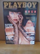 Vintage Playboy December 1988~Gala Christmas Issue~1988 Playmate Review~More!