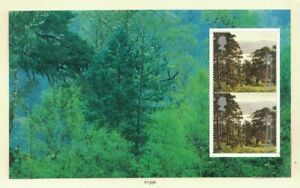 MGB25) Great Britain 2000 A Treasury of Trees Booklet Pane MUH