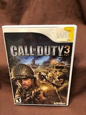 Call Of Duty 3 By Activision Game For Your Nintendo Wii Tested