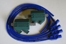 Partes electrónicas e ignición color principal azul para motos