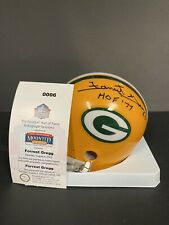 Forrest Gregg Autographed Green Bay Packers Mini Helmet Mounted Memories COA
