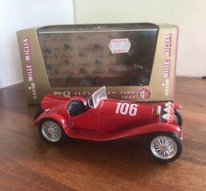 BRUMM HP 142 ALFA ROMEO 2300 1932 MODEL CAR 1:43 RED (Vintage)