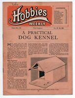 Vintage Hobbies Weekly Magazine Vol 110 No 2861 printed in 1950